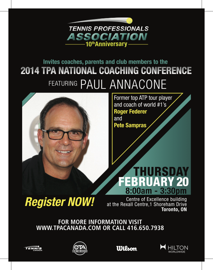 2014 TPA National Coaching Conference